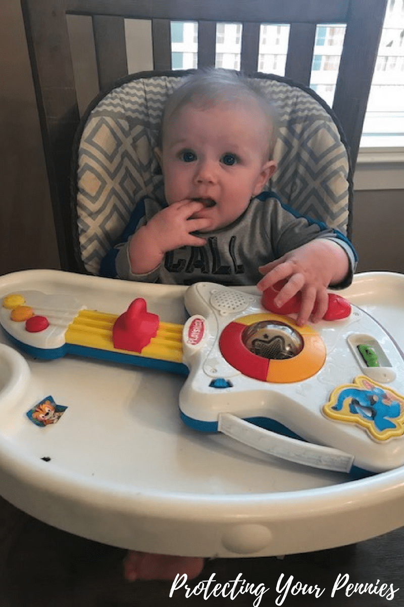 Hungry Baby Waiting on Food