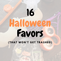 16 Halloween Favors for Kids That Won't Get Trashed - Great for Kid's School Parties or MDO-Preschool