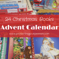 24 Christmas Books Advent Calendar - Easy Holiday Tradition for Kids - Educational Christmas Activity for Kids to Countdown Christmas in December