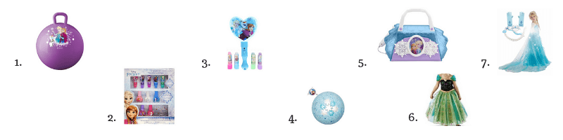 Frozen Imaginative Play Toys