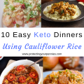 10 Keto Recipes Using Cauliflower Rice for Easy weeknight Meals