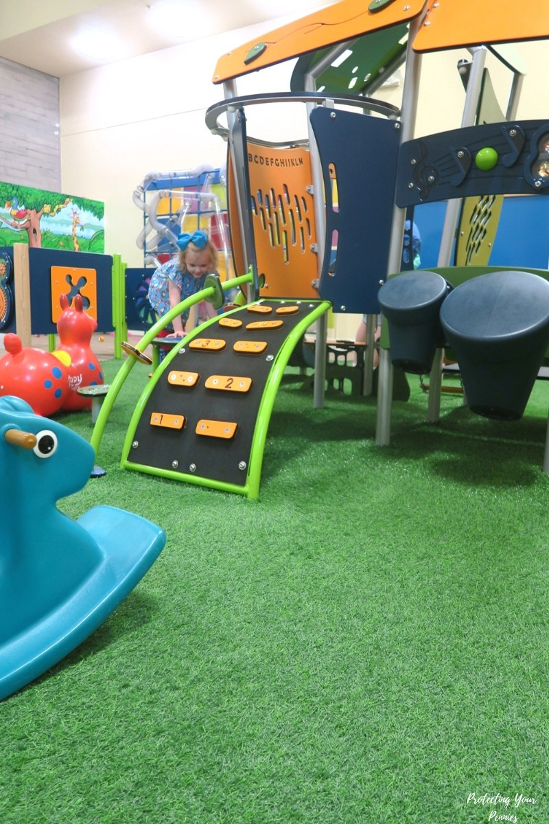 4 and Under Play Area at CMOM