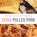 Slow Cooker Zevia Pulled Pork for Trim Healthy Mama S or E Meal