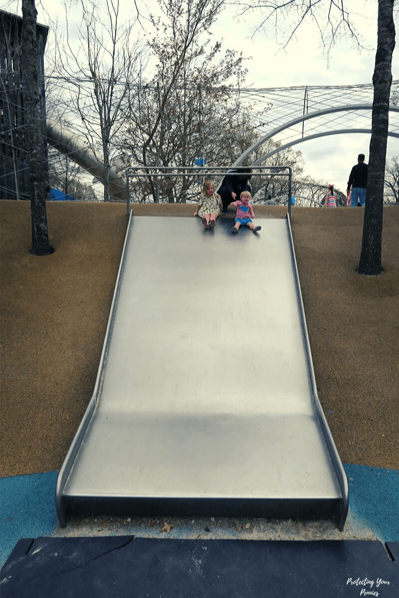 Large Slide at Shelby Farms