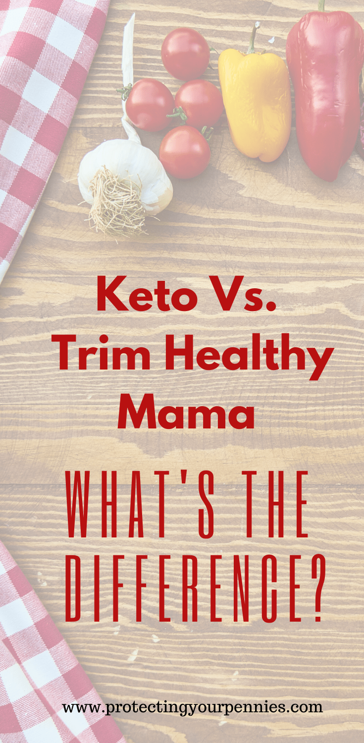 Keto Vs. Trim Healthy Mama - What is the Difference