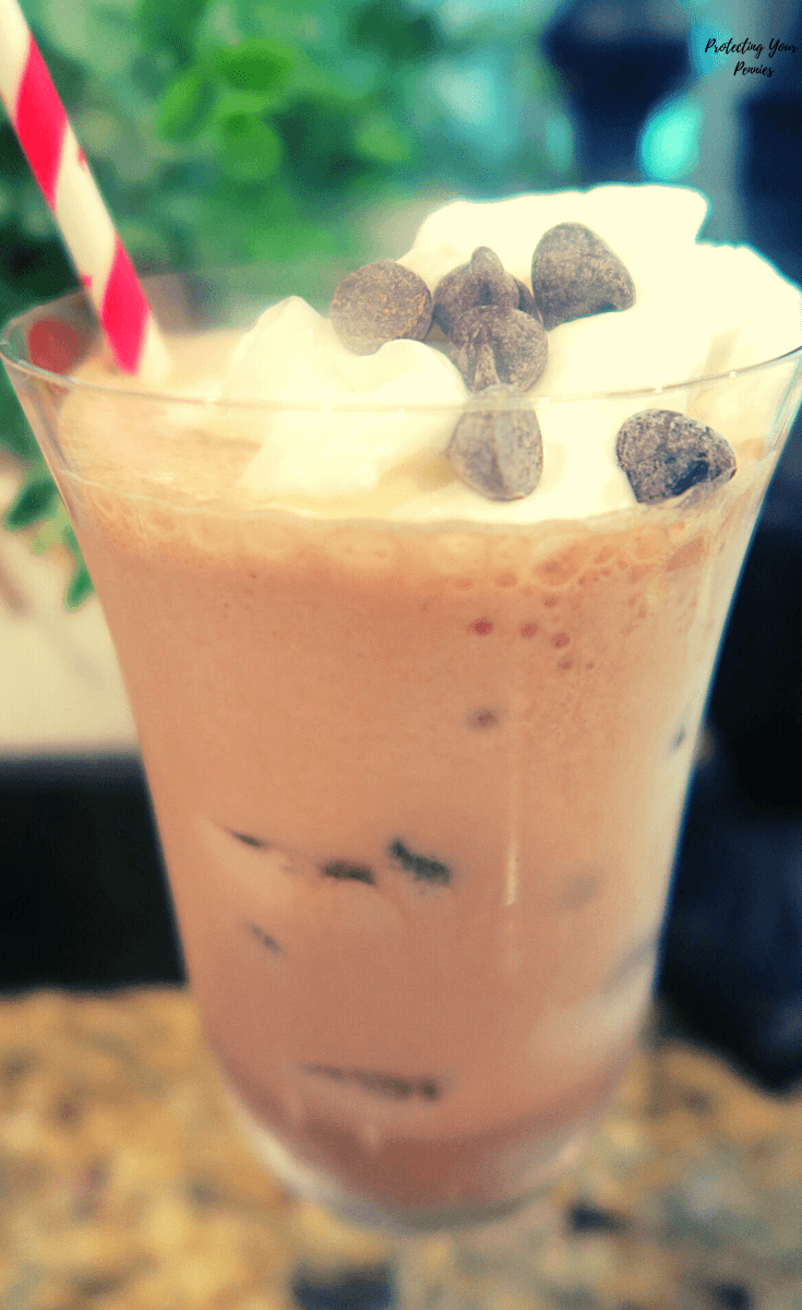 Low Carb Sugar Free Chocolate Frappe in the Blender At Home (1)