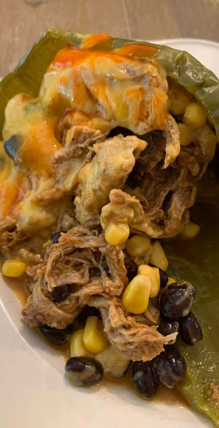 THM E Stuffed Bell Pepper with Mexican Pork