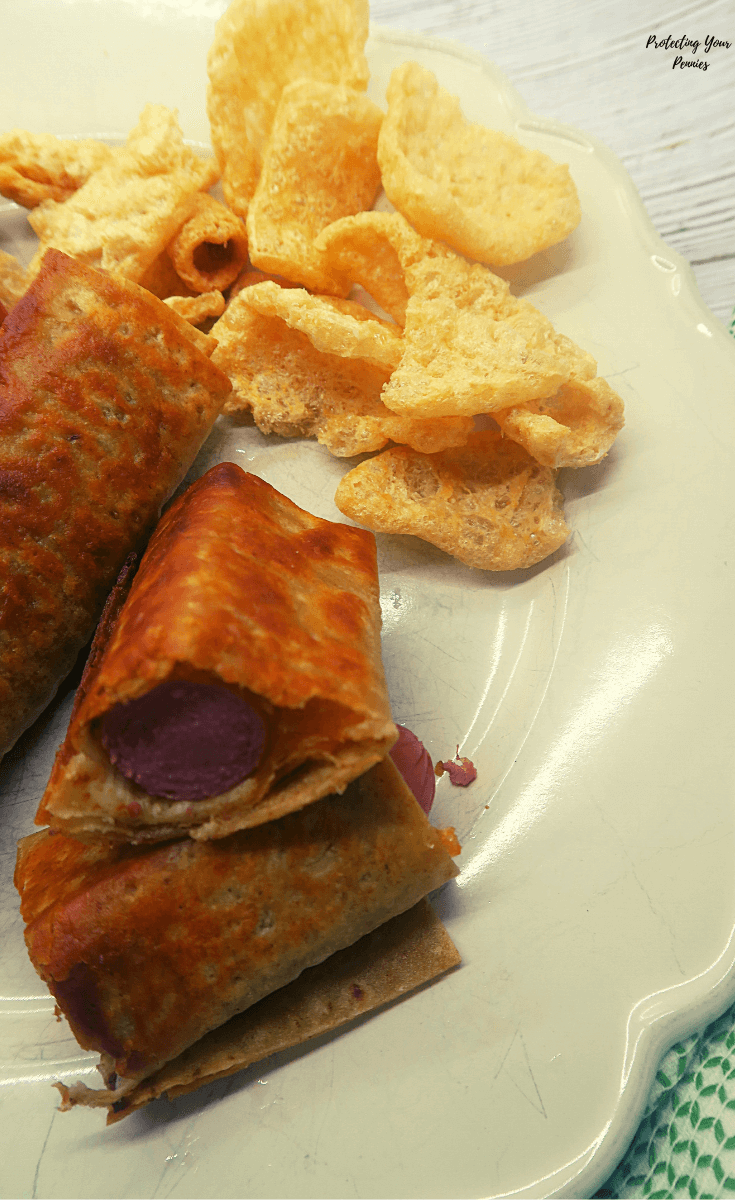 Lavash and Cheese Pigs N A Blanket (1)