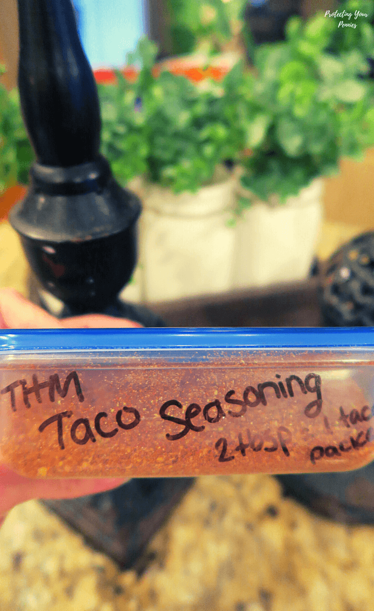THM Taco Seasoning 2 Tablespoons per Packet (1)