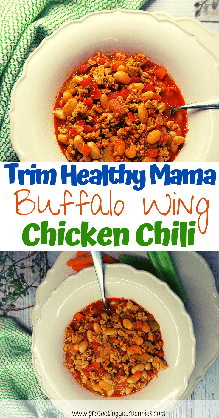 Trim Healthy Mama Buffalo Wing Chicken Chili