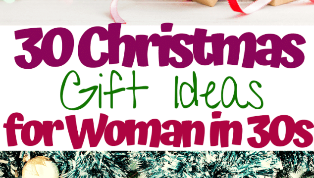 30 Christmas Gift Ideas for woman in 30s