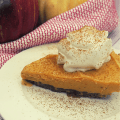 THM Pumpkin Spice Ice Cream Pie