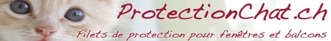 Filets de protection pour chats - www.ProtectionChat.ch