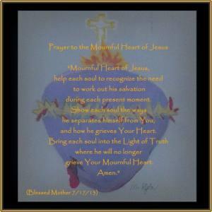 Mournful Heart Prayers