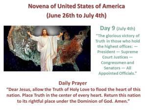 Novena of USA Day 9
