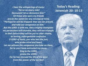 Jeremiah Prayer