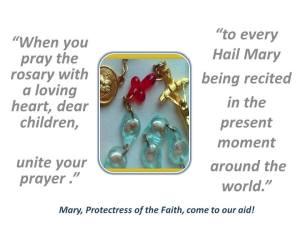 Unite to Hail Mary