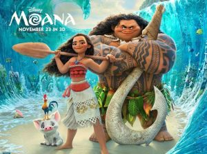 Moana and Maui photo by Disney