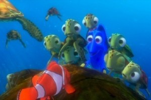 endangered species in Finding Nemo