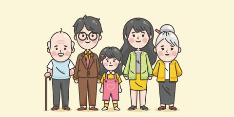 60歳と家族