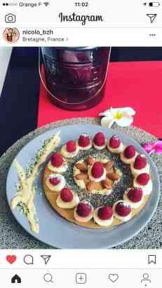 Crêpes protéinées bio à la fraise avec la wheygg eggnergy