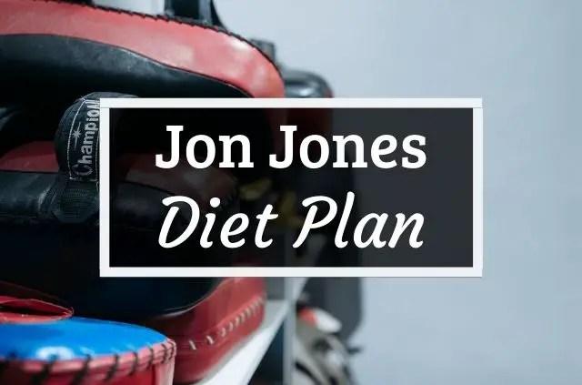 Jon Jones diet