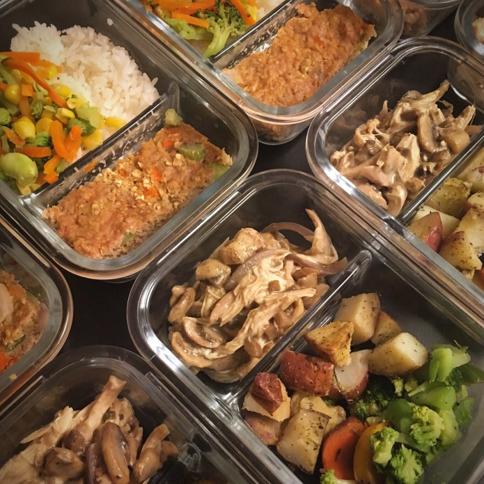 Protein Veggie Carb Meal Prep