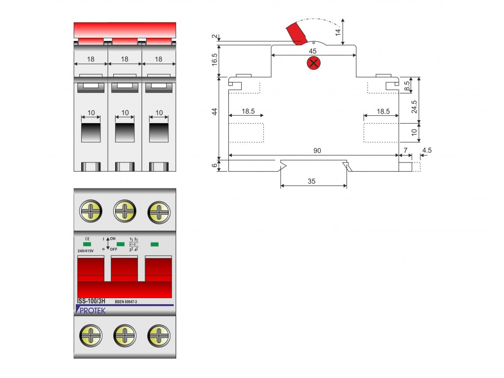 Double Pole Electrical Switch Wiring Diagram For Switches