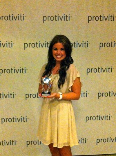 Emily - Most Texas at Tiv Awards
