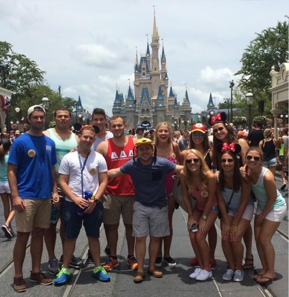 Interns at Disney