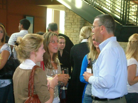 Pictured above is Katelyn talking to our CEO Joe Tarantino at the 2009 Intern Challenge Executive Night