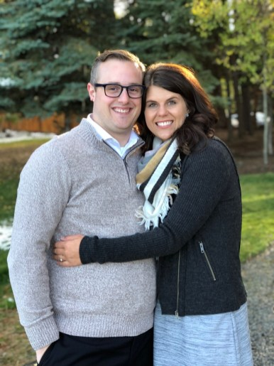 Drew and his fiance who are getting married this summer 2018!