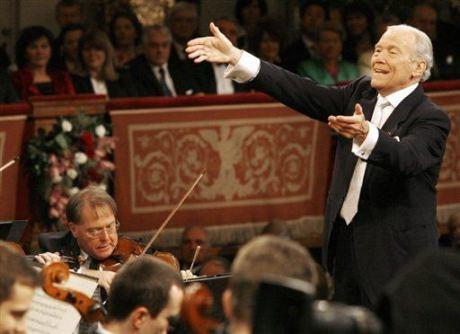 Georges Pretre vuelve a dirigir el concierto en 2010