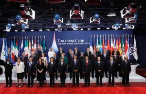 Reunión del G20 en Francia