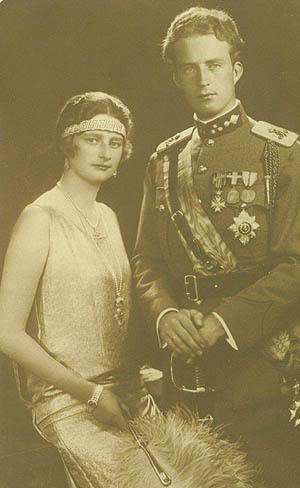 Boda de Rey Leopoldo III y Astris de Suecia