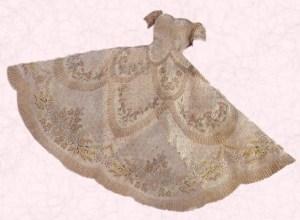 Vestido que lució Isabel II
