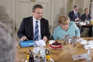 Merkel en Meseberg