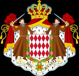 Escudo de armas de Mónaco