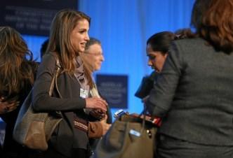 Reina Rania bolso grande para trabajar
