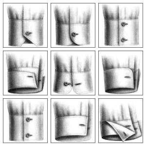 puños o cuffs