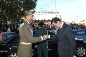 Saludo Rajoy