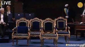 Sillones para la familia real
