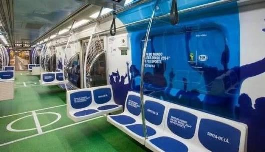 El metro en  Brasil