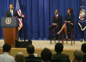 Las piernas de Michelle Obama