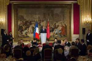 Francia recibe China