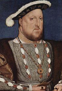Enrique VIII pintado por Holbein