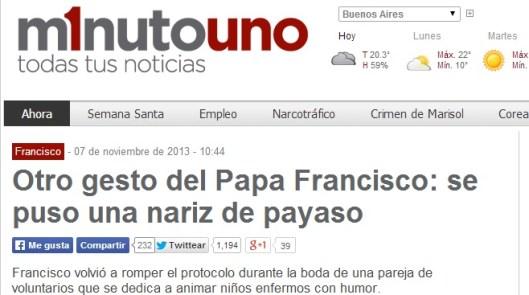 Nariz Papa