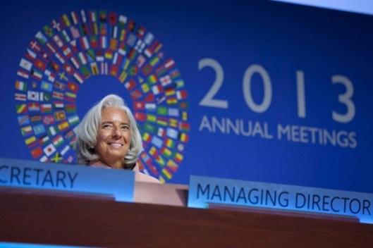 La Sra. Lagarde