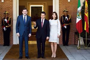 Con el presidente Rajoy