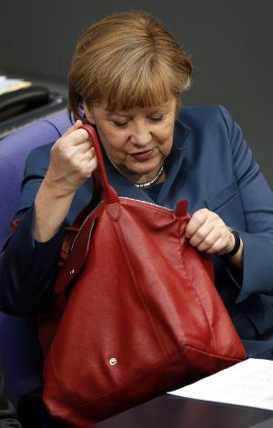 Merkel y su bolso